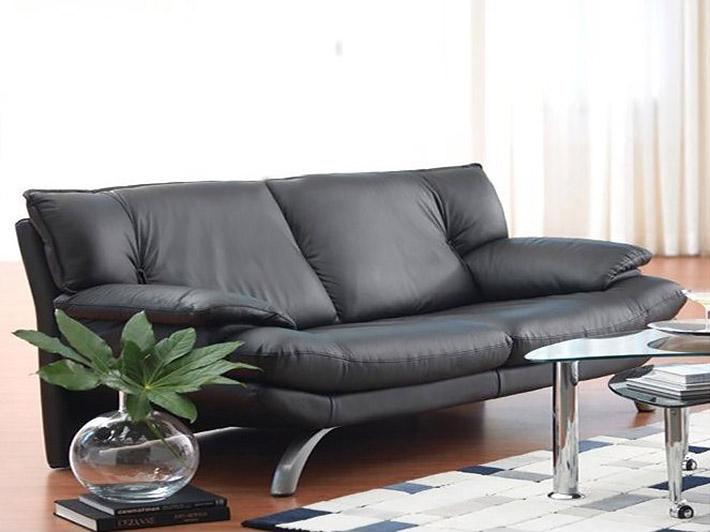 divano pelle nera - 28 images - divano pelle nera 2 posti a rubiera ...
