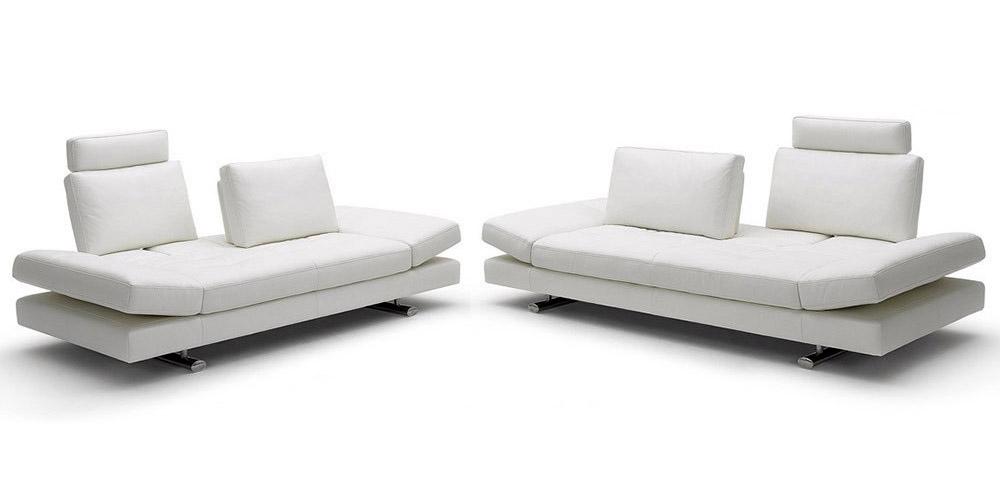 divano italiano in pelle slalom. Black Bedroom Furniture Sets. Home Design Ideas